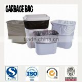 HDPE/LDPE flat type trash plastic bags for public use