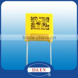 Series of MPX class x2 capacitor for used in 220v 24v transformer