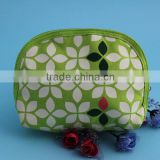 promotional printed fancy cloth comestic pouch with zipper