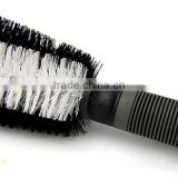 rubber handle and soft bristle professional car wash brush