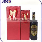 Promotional Paper Wine Bag/Gift wine Bags/wine bottle Packaging handbag for wine from trade assurance supplier
