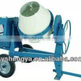 Factory direct sell price mini type concrete mixer CM350 for brick machine cement blender simple operation in Africa