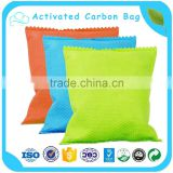 Ningxia Maunfacturer Coconut Shell Activated Carbon Air Purification Bag Use In Car