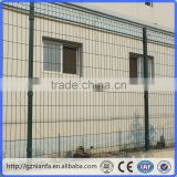galvanized square section post factory price galvanized wire mesh fencing(Guangzhou Factory)