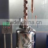200L single layer boiler with copper column electric alcohol distiller for sale