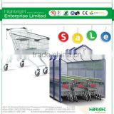 Hypermarket Shopping Trolley Shelters