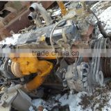 Used isuzu 6HE1 used ENGINE with turbo or without turbo