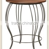 Hot sale wrought iron bar table