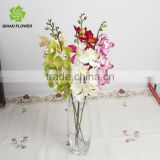 Wholesale real touch latex orchid artificial cymbidium orchids