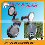 2013 NEW HRS-0202(B) Highlight outdoor solar spot light