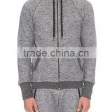 custom men's grey sport track suit