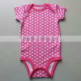 Baby love 100% cotton printed wholesale baby clothes , import baby clothes china