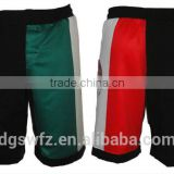 blank mma shorts wholesale new deight for board plain blank spandex lycra womens boxing shorts fabric