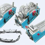 Automobile Bumper Mould,Auto Bumper Mould,Plastic Injection Mould,Injection Moulding,Plasitc Molding