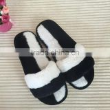 ladies shoes fur quiet warm winter indoor home slipper