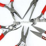 Wholesale Jewelry Making Tool 6PCs/set Mixed Pliers Scissor Kit With Case