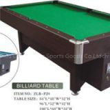 Coin Operated MDF Billiard Table