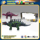 China supplier mini walking plastic dinosaur figures with swing functions