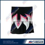 Hot sale sublimated custom made netball bib suit,netball skirt