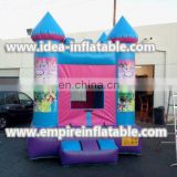 best price custom princess inflatable children bounce house ID-MD1016