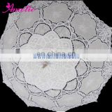 48cm hook embroidery battenburg lace victorian lace parasol