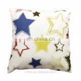 Canvas cotton alike 45x45cm decorative hand work latest design back support cushion