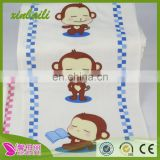 wholesale double gauze printed cotton children baby towel