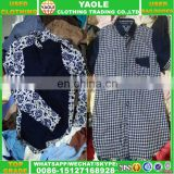 wholesale clothes cream quality man work shirt used clothing bales