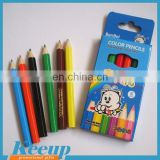 Promotional 6pcs 3.5 inch Color Pencil Set