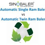 Automatic Single Ram Baler vs Automatic Twin Ram Baler