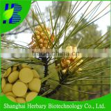 Pine pollen powder tablet