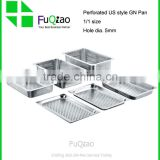Restaurant Hotel Supplies Full Size European And American Stainless steel gn pan food pan
