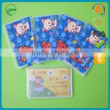 best selling items new products made in China international standard size PVC card sleeve