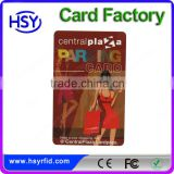 Custom arts and crafts plastic business card cheap price