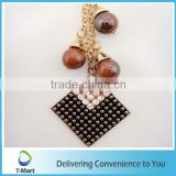 Hot sale Cross Grid Pendant design for key chain, bags, clothings, belts and all decoration