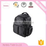 Waterproof Diaper Backpack with Changing Pad and Stroller Clips