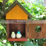 decorative wooden bird cages wholesale,small wooden bird houses,decorative bird houses chinese