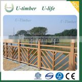 Eco-friendly new technology WPC wood composite fence panels wholesale