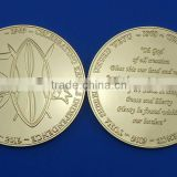50 years anniversary gold coin celebrating souvenir coin for Kenya thickness golden coin