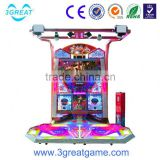 Game center dancing machine music dancing arcade machine arcade video dance game machine