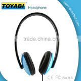 3.5mm music LED earphone headphones headset with MIC Strong Bass Earbuds On-Ear Headset with detachable cable