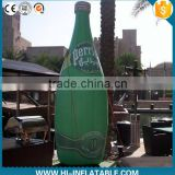 Attractive Outdoor Dispaly/Advertising Inflatable Bottle/Inflatable Beer for promotional