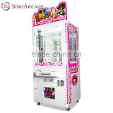 Sinoarcade Doll Gift Pusher toy crane machine Coin Operation indoor playground equipment Gift Game Machine Simulation