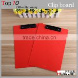 Metal clip design and plastic material a4 hanging Plastic Clipboard