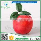 Greenflower 2016 Wholesale 17cm EPS Artificial fruit apple handmade China for fruit store supermaket decoration