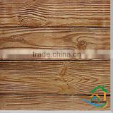Artificial stone exterior wood wall panels