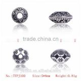 China Supplier 925 Sterling Silver Beads for Jewelry Making Supplies, All Types of Beads Wholesale