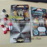 rhino 7/MaxtraZEN sex enhancer pill shell bullet bottles/ penis enlargement pills bottle/rhino 69 fx 3000 capsule shell bullet