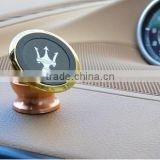 Car phone holder bracket contained magnetic iron absorption dashboard ornaments metal disc navigation Alice