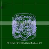 CAD custom jewelry china , 3d jewelry cad models
